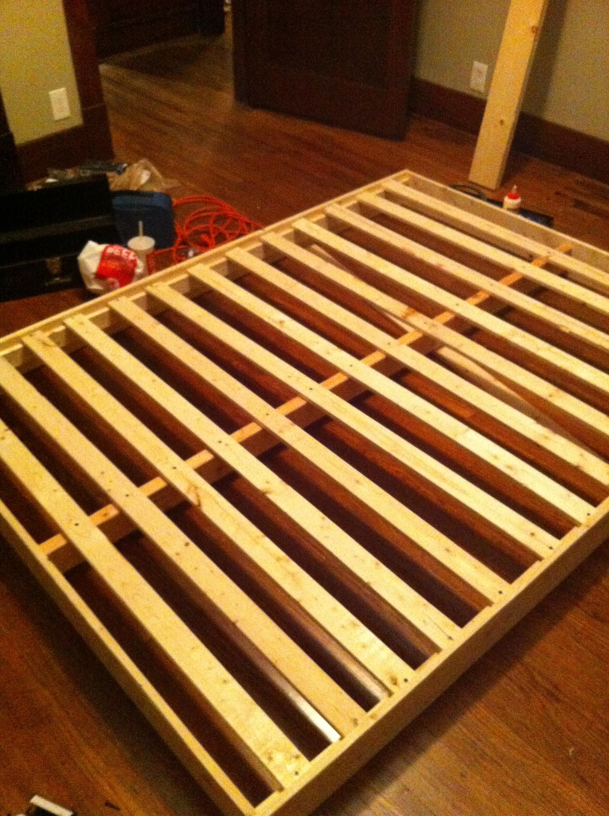 Diy Metal Frame Bed Sarah Catherine Design