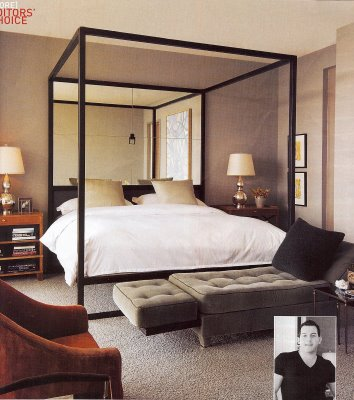 Modern 4 Poster Bed four poster beds — sarah catherine design