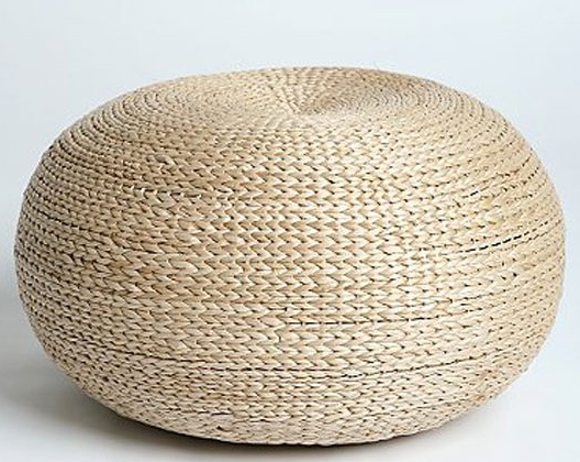 The Perfect Pouf € Sarah Catherine Design - Knit Pouf Ottoman Cymun Designs  - Knit Pouf - Knit Pouf Ottoman Cymun Designs