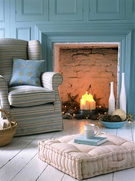 Fireplace Candles Sarah Catherine Design