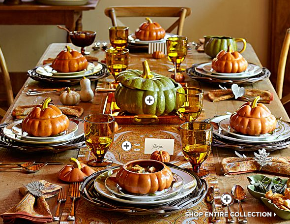 via & Inspired Thanksgiving Table Settings \u2014 Sarah Catherine Design
