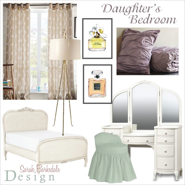 Daughter's Bedroom | Sarah Barksdale Design