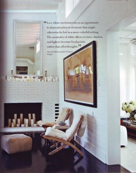 Fireplace Candles | Sarah Barksdale Design