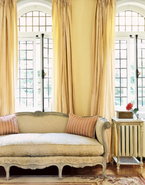 Vintage Yellow Interiors | Sarah Barksdale Design