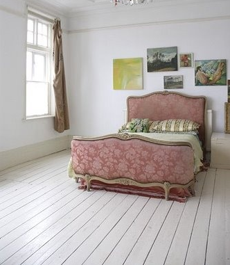 Painted Wood Floors | Sarah Barksdale Design