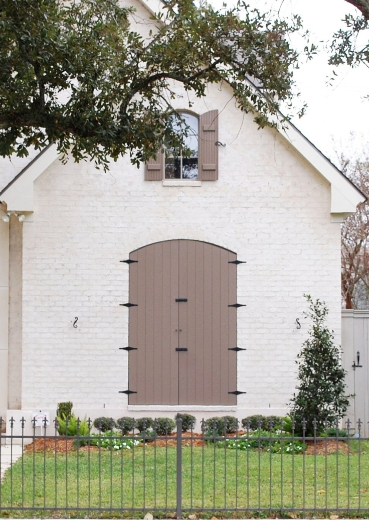 Painted Brick Homes | Sarah Barksdale Design