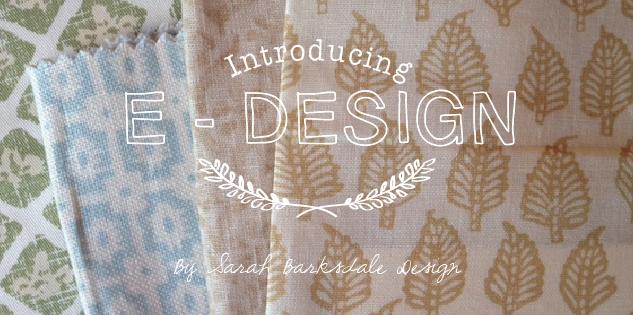 E-Design | Sarah Barksdale Design
