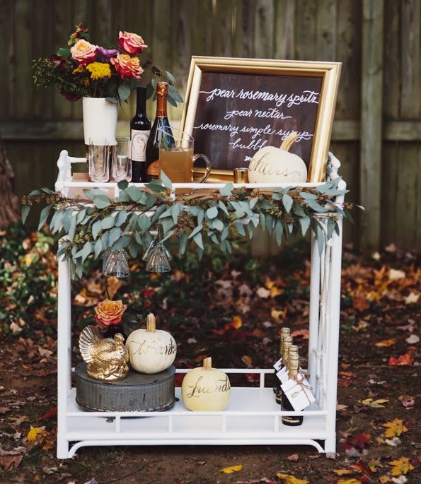 Thanksgiving Table Scapes | Sarah Barksdale Design