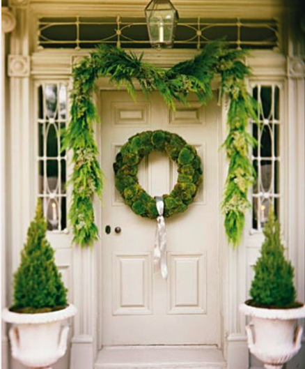Decorating with Greenery | Sarah Barksdale Design