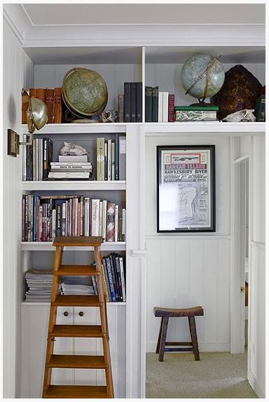 Creative storage ideas | Sarah Barksdale Design