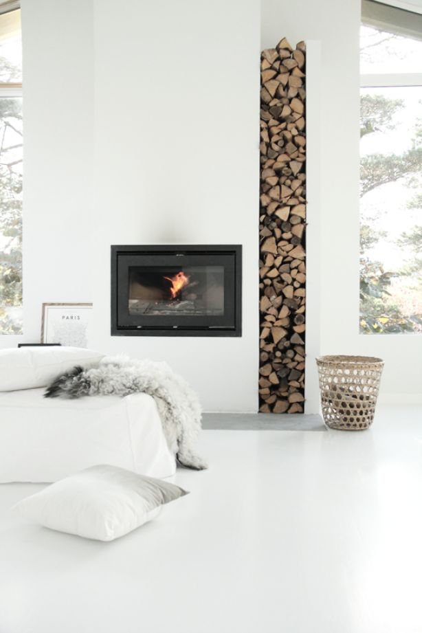 how to how to stack wood in fireplace : Lets talk about Stacked wood — Sarah Catherine Design