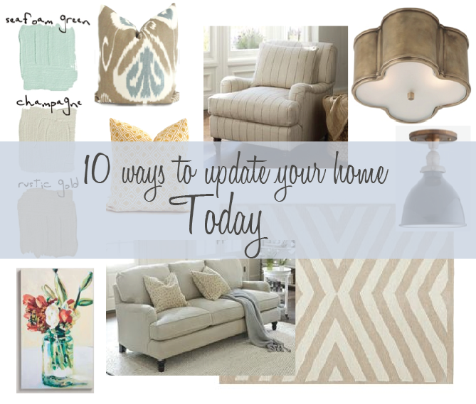 10 Ways to update your house today — Sarah Catherine Design