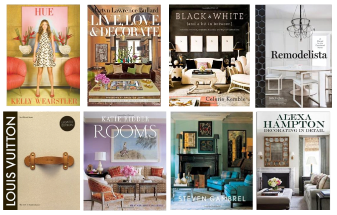 Coffee Table Books | Sarah Barksdale Design