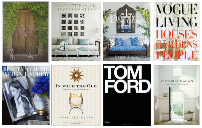 Coffee Table Books | Sarah Barksdale Design