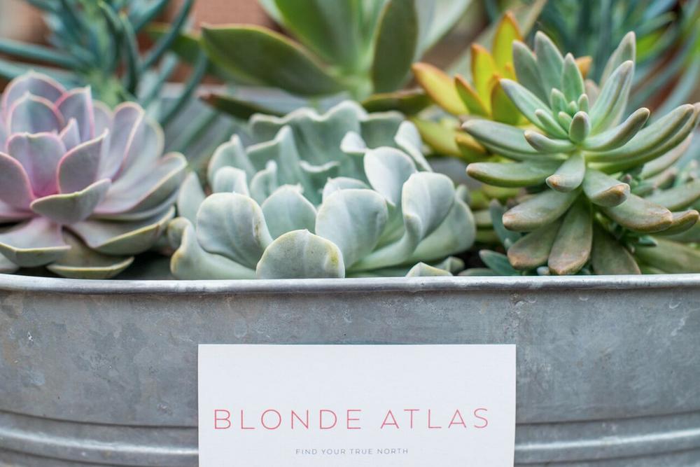 BLONDE ATLAS + Goals Dinner