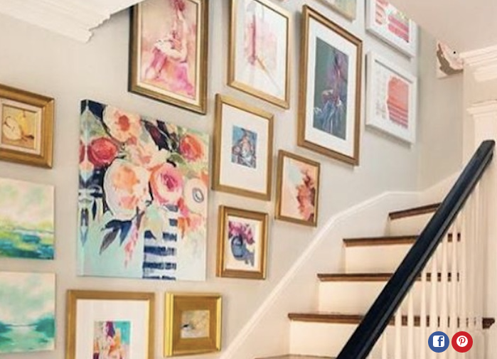 Womanista - How to Style a Gallery Wall | Sarah Catherine Design