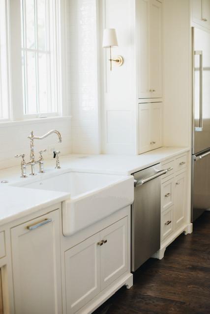 Cabinets & Walls: BM White Dove | Sarah Catherine Design