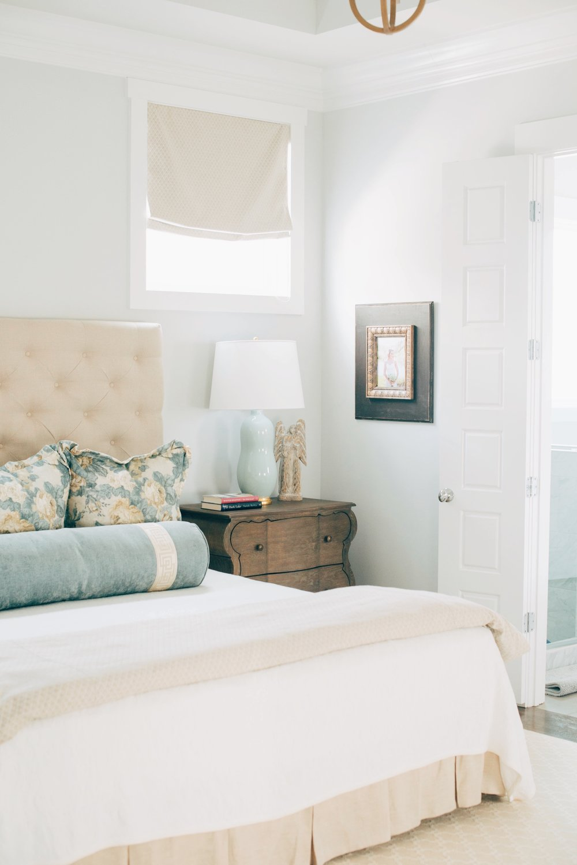 Walls: Porter Paint, Thin Ice | Sarah Catherine Design
