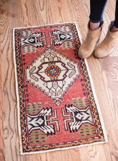 Visit our rugs page to see our entire inventory ( here )