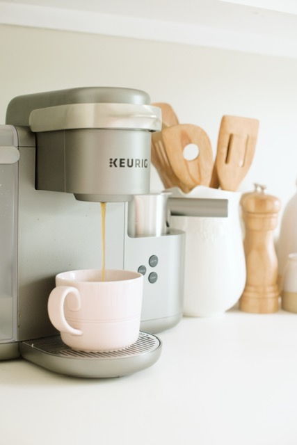 Keurig Coffee, Latte and Cappuccino Maker ( here )