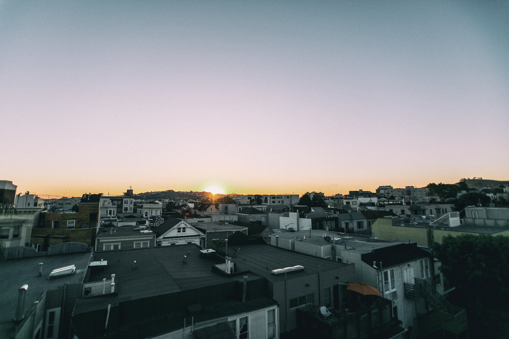 SF sunrise