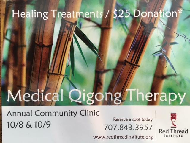 Medical Qigong Community Clinic Santa Rosa Ca