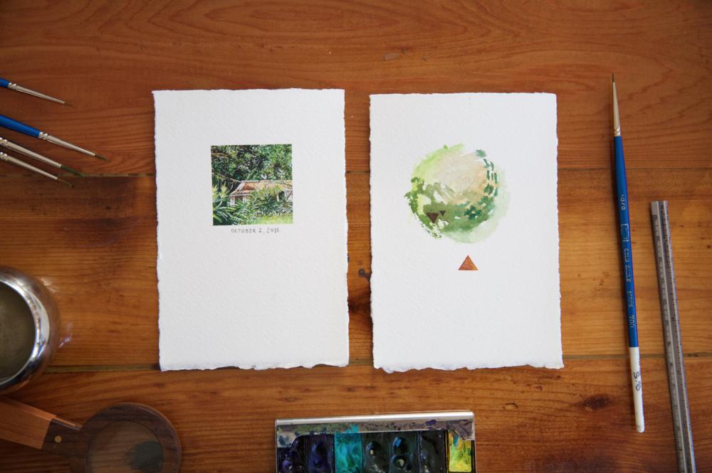 Marisa Pahl Painting Process