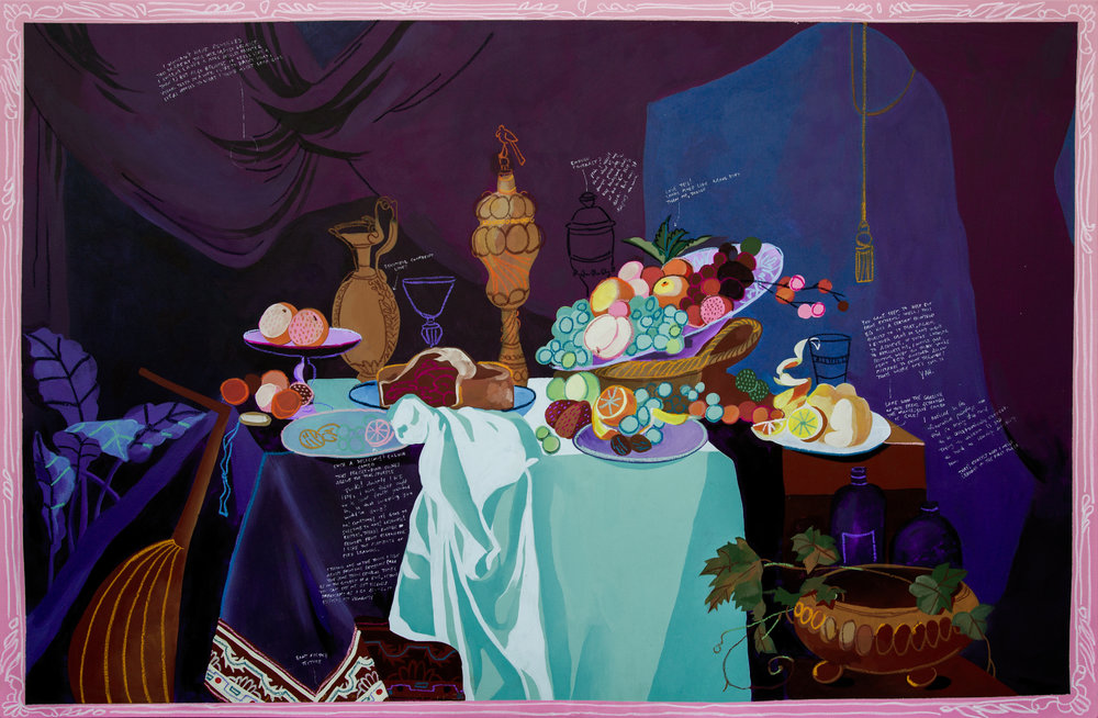 Style Exercise 2 (Table of Desserts), 2016