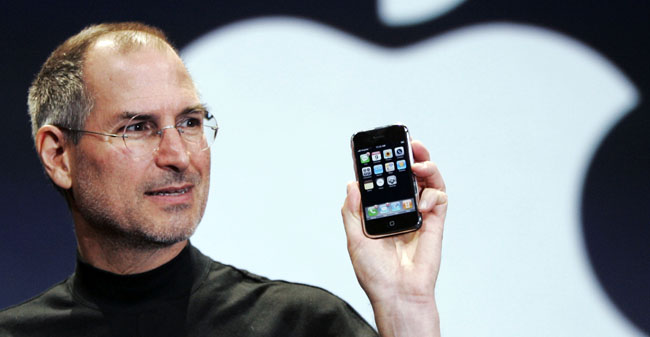 Apple iPhone, Steve Jobs