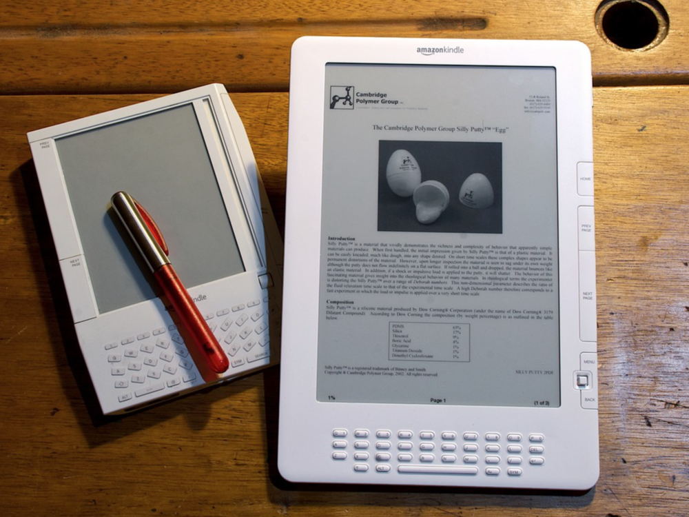 Amazon Kindle. Photo: Andy Ihnatko via Flickr.