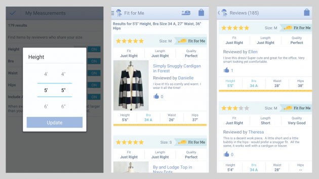 You can read more about personalization and the ModCloth feature  here .
