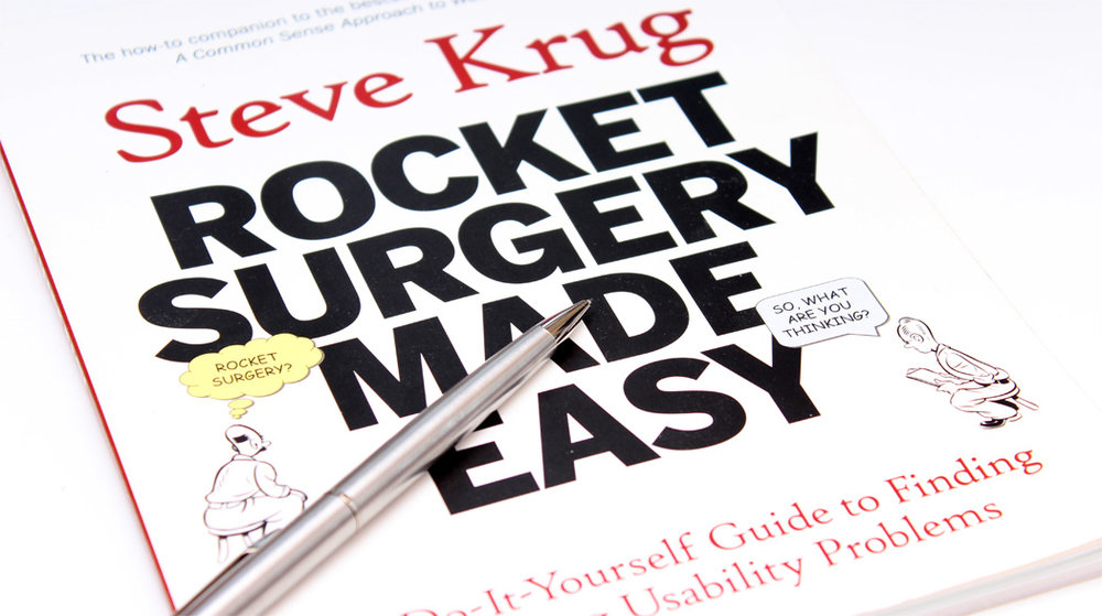 If you aren't running open, regular usability sessions I would highly recommend Steve Krug's book  Rocket Surgery Made Easy .