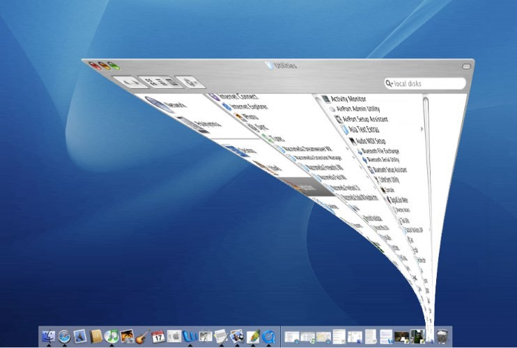 Mac OS minimize windows animation