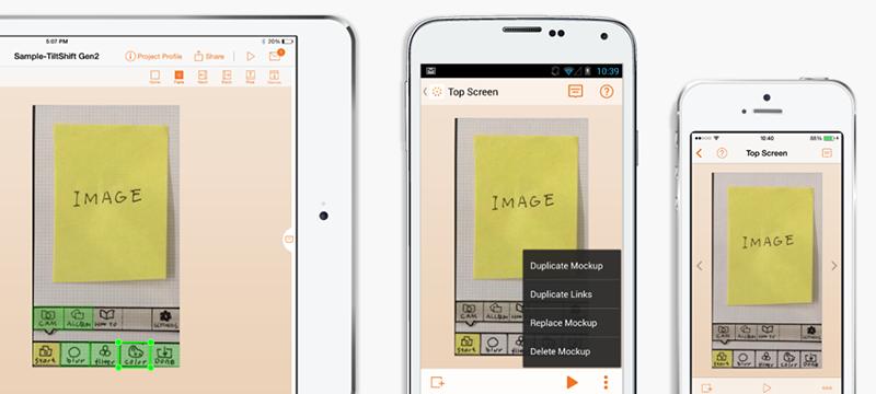 POP—Prototyping on Paper app
