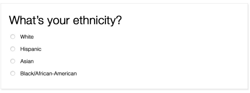 The (frustrating) User Experience of defining your own ethnicity (source)