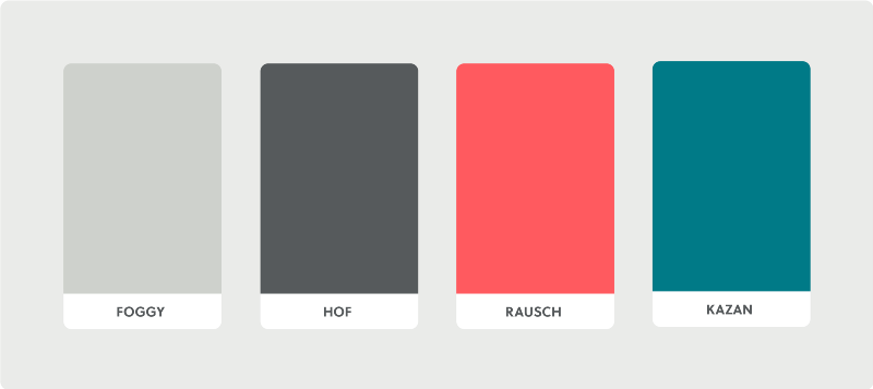 Airbnbs Primary Color Is Rausch Named After The Street Company Originated From Kazan Serves As A Secondary And Two Grays Are Used