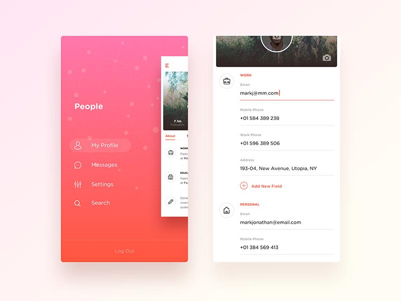 Wip—Social App by  Nimasha Perera