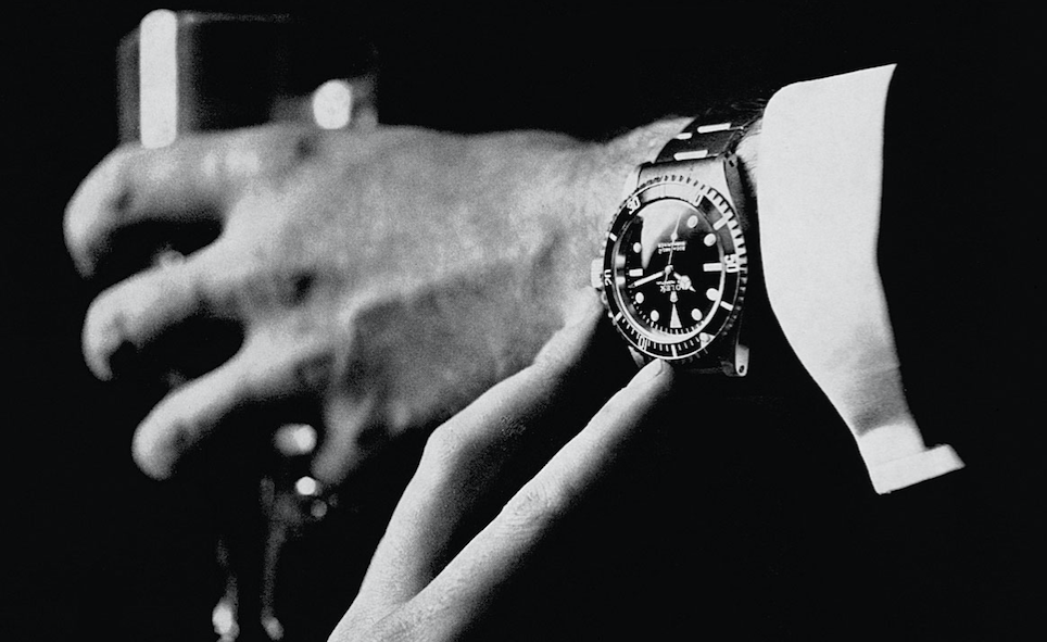 The Rolex Submariner, a timeless design.