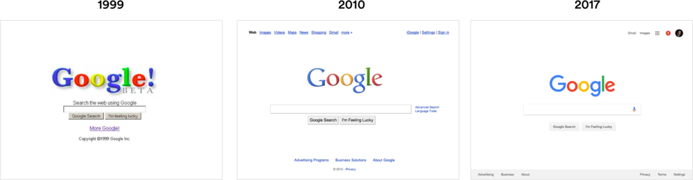Google's fundamental design hasn't changed in over 20 years (in internet time that's an eternity).