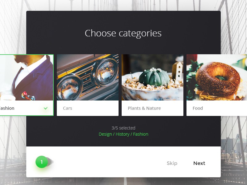 Choose category by Paul Flavius Nechita