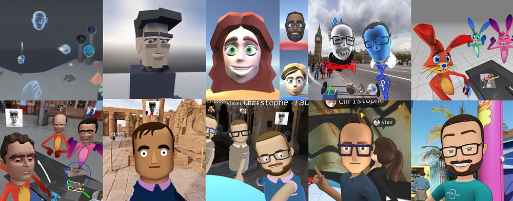 A few of our many avatar explorations