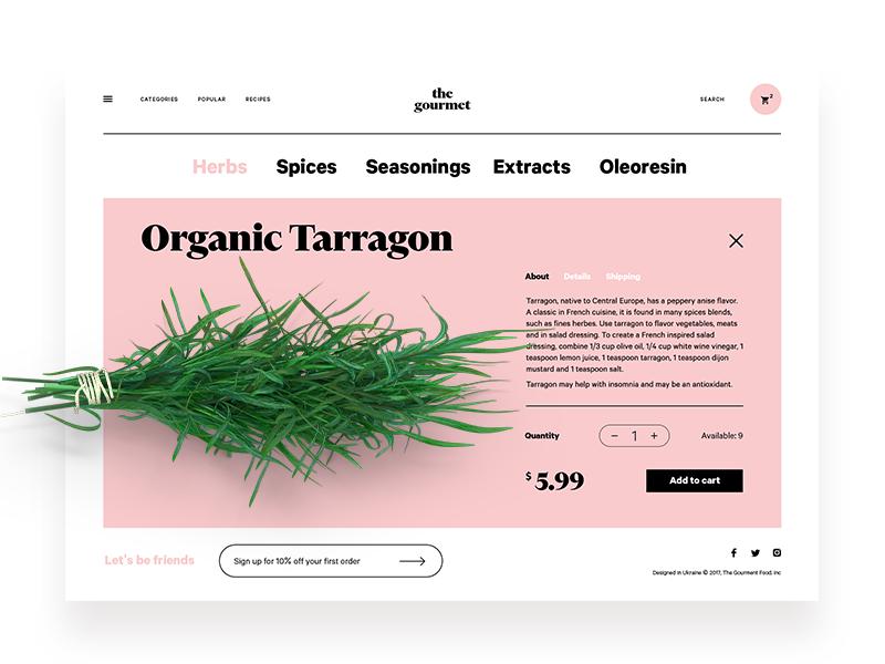 The Gourmet Website