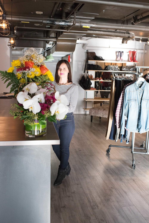 The Main Exchange  owner, Miranda Dendewich