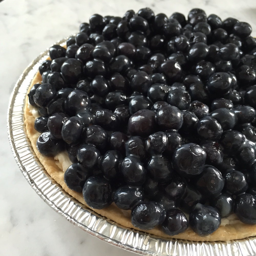 Blueberry Mascarpone Tart. Easiest dessert ever.  Photo: The Vancouverite