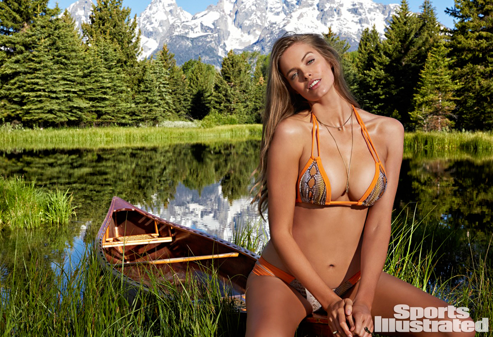 Model Robyn Lawley. Photo: Sports Illustrated