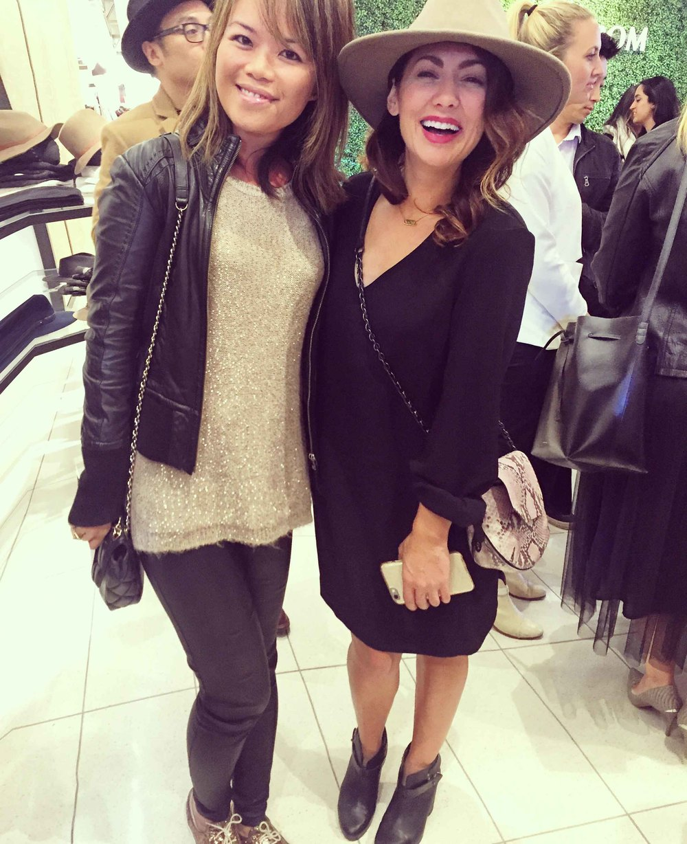 with this great gal, jillian harris.