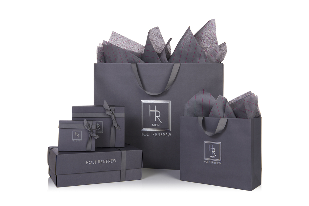 New Packaging for Holt Renfrew Men. Photo: Holt Renfrew