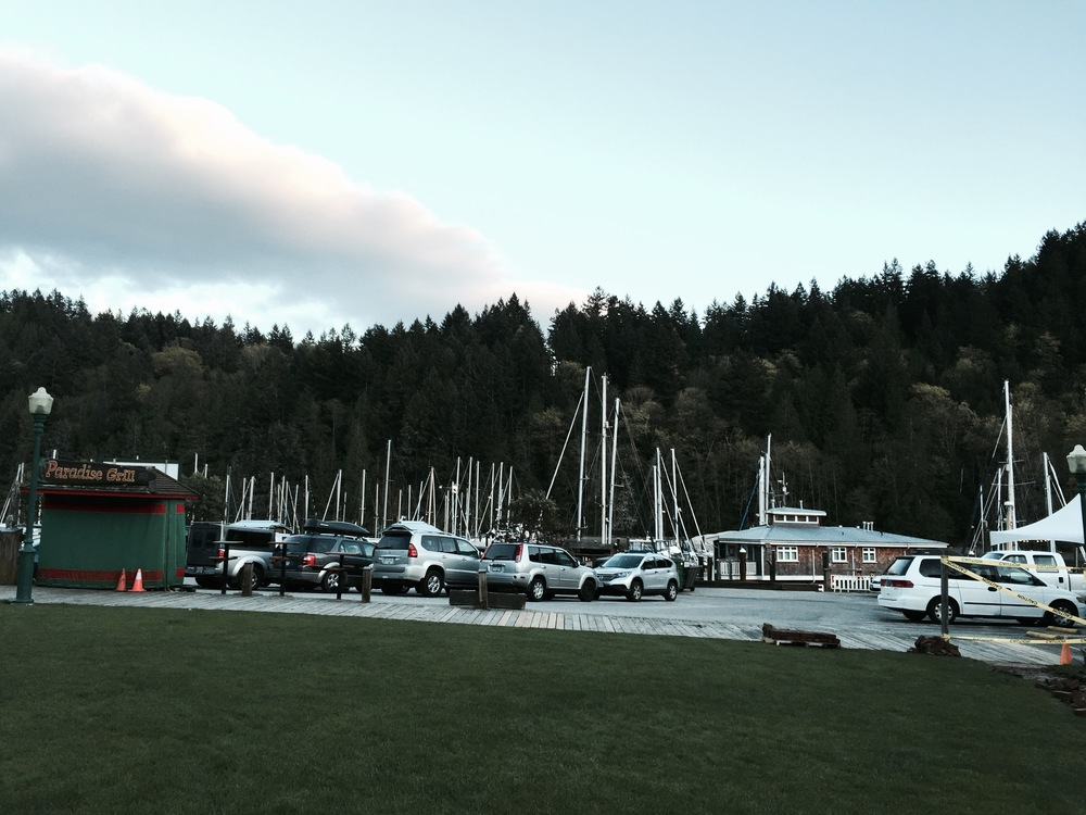 Snug Cove Harbour, at the ferry terminal