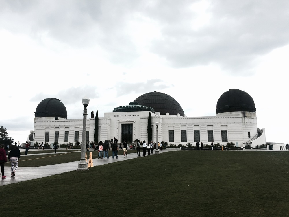 The gorgeous Griffith Observatory in Griffith Park on Mount Hollywood. Some spectacular views here.