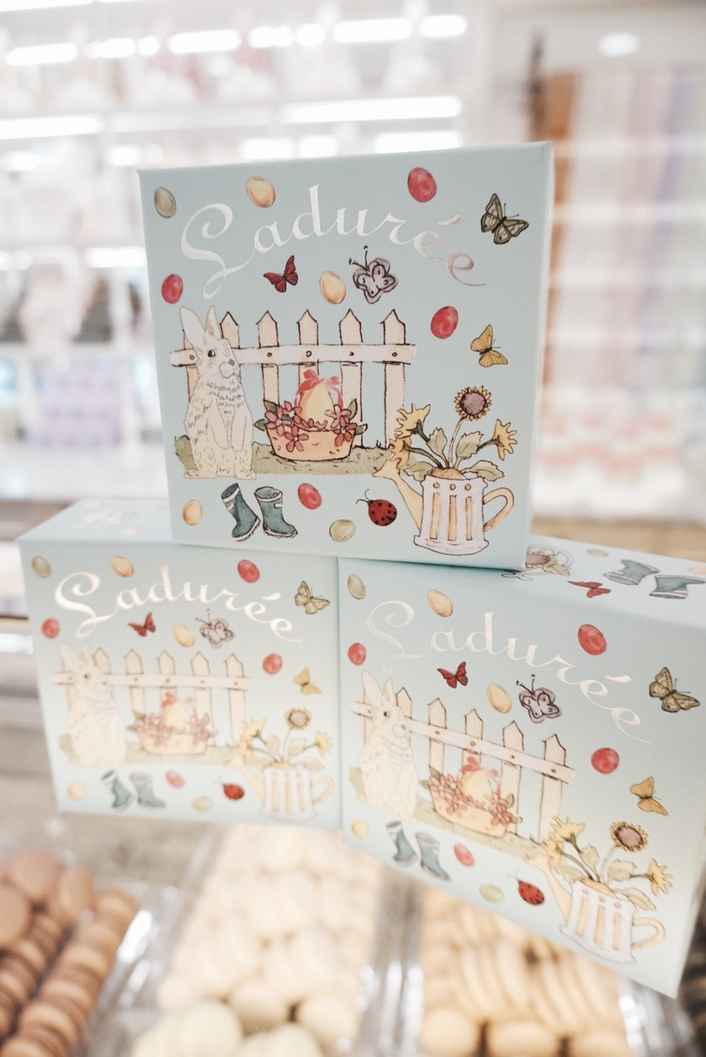 New Easter Boxes for a limited time at Ladurée